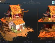 2006期游戏3D美术设计师班1班【OT】的五星作品