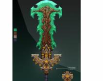 2009期游戏3D美术设计师班1班【OT】的五星作品