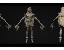 1909期游戏3D美术设计师班1班【OT】的五星作品