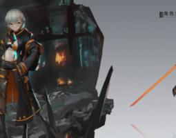 2008期游戏原画高级设计师班1班【O】的五星作品