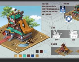 2006期游戏原画高级设计师班1班【O】的五星作品