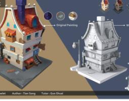 2012期游戏3D美术大师班1班【OT】的五星作品
