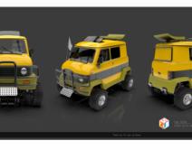 2011期游戏3D美术大师班1班【OT】的五星作品