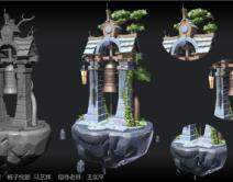 2010期游戏3D美术大师班1班【O】的五星作品