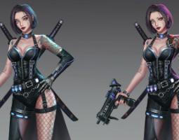 2006期游戏原画高级设计师班1班【OT】的五星作品