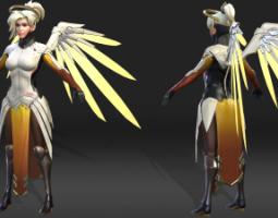 2009期游戏3D美术设计师班1班【O】的五星作品