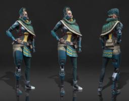 2102期游戏3D美术大师班1班【O】的五星作品