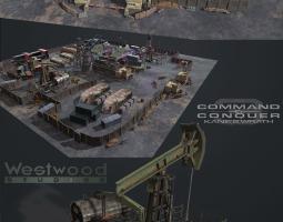 石油矿井工厂