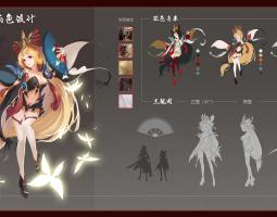 中国风人物角色设计