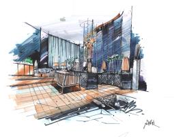 建筑手绘创意方案