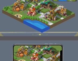 城建类游戏地图
