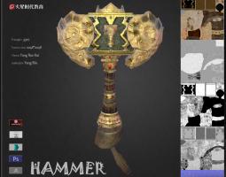 游戏3D美术作品