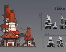 中国风建筑设计