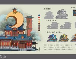 1802期游戏原画高级设计师班1班【O】的五星作品