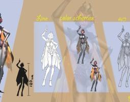 1804期游戏原画高级设计师班1班【O】的五星作品