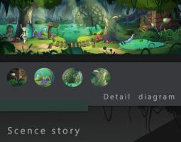 横版游戏自然场景设计