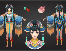 游戏3D美术设计